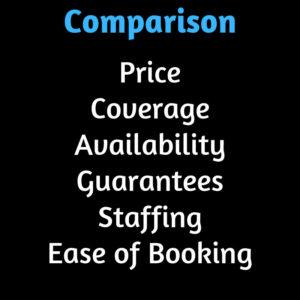 Compare Massage Providers