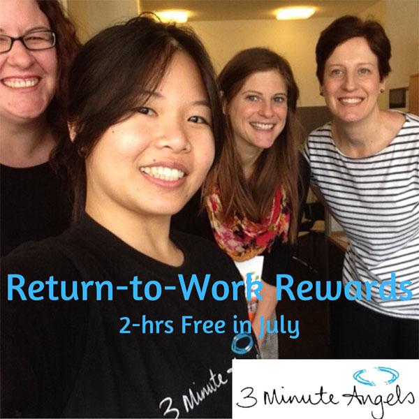 Return to Work Massages