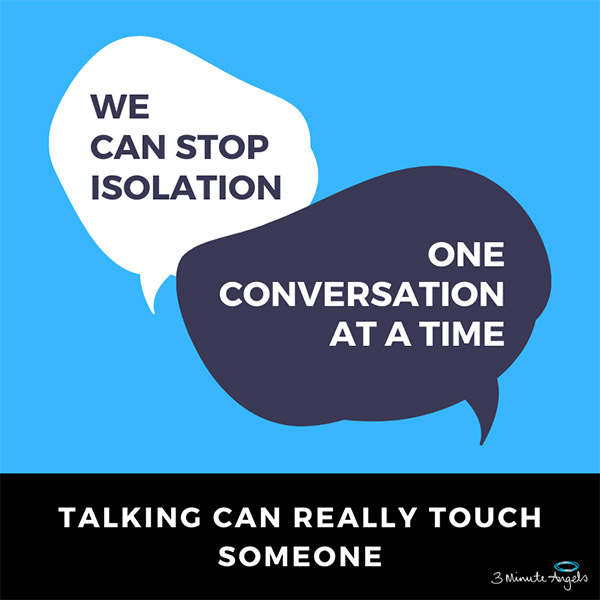 It is just a conversation